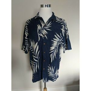 Hilo Hattie Hawaiian Men's Button Down Shirt L